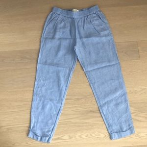 Joie Linen Cropped Pants